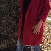 Хит!Стильное кашемировое пальто оверсайз!В лоте фото 3(серое)