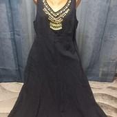 Платье (сарафан) на подкладке. Размер 50-52