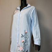 Качество! Рубашка/вышивка/удл.спинка, для дома, пляжа и т.д. от Love to Lounge, в отличном состоянии