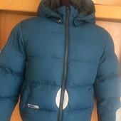 куртка, зима, размер 7-8 лет 128 см, H&M. состояние хорошее