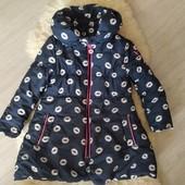 Демисезонная куртка пальто Europa kids на 3-5 лет