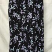 Лёгенькая фирменная юбочка из вискозы,M&S,xl/2xl