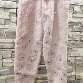 Primark флисовые штаники  2-3 года 98 см