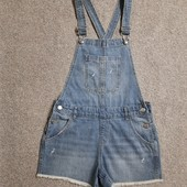 Собираем лоты !!джинсовый комбинезон, размер 12-13лет,158см