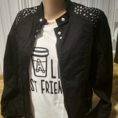 Куртка Bershka + футболка p.XS-S