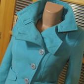 Очень красивая курточка из пальтовой ткани, р.С