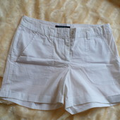 белые летние шорты р 42