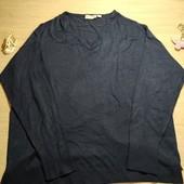 Германия!!! Лёгкий женский свитерок! 48/50 евро! Тёмно-синий цвет!
