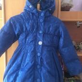 куртка, холодная весна, размер 2 года 92 см, pampolina. состояние хорошее