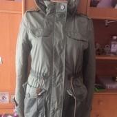 куртка. холодная весна, парка, размер М, Clockhouse. состояние хорошее