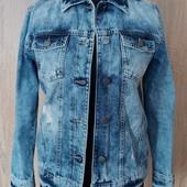 Собирайте лоты!!!Класная стильная джинсовая курточка