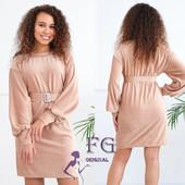 Вельветовое платье Monica, 42-44, 46-48