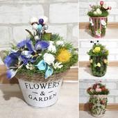 Ручная работа, много разных ! Цветы подарок 8 марта.