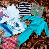 Пакет одежды на 3-5 лет.