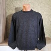 Собираем лоты!! Мужской свитерок, размер xl(маломерит),50%шерсть, 50%акрил