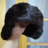 Шикарная норковая заготовка для шапки, новая, мех просто супер, объем 59