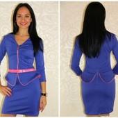 Нарядное платье из французского трикотажа размеры 42, 44, 46. Одно на выбор победителя