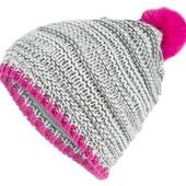 Телпая вязанная шапка на флисе crivit 6-10 лет или 122-140