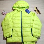 Германия!!! Стеганая демисезонная куртка курточка для мальчика! 110 рост!