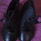 Бомбезные кожаные, демисезонные ботиночки!