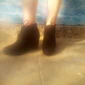 Красивые, элегантные, демисезонные ботиночки!