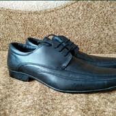 Туфли кожаные Burton ,43 размер на ногу 27-27,5 см.