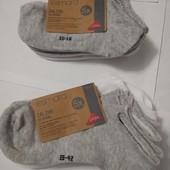 Пять пар! Носки био хлопок Esmara Германия 39-42 для склонной к аллергии кожи