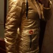 Демисезонная куртка, р.158, замеры!