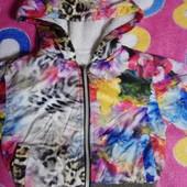 Куртка для девочки 1-2 лет см. Замеры читайте
