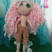 шарнирная кукла, 36 см, волосы можно заплетать