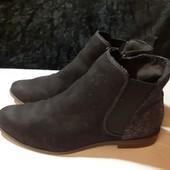 Деми ботинки Челси от Tamaris, разм. 37 (24 см внутри). Сост. очень хорошее!