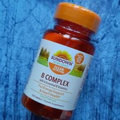 Комплекс витаминов группы В, 100 таблеток, США
