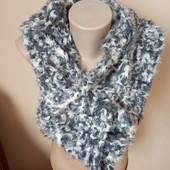 Теплий гарний шарф, довгий , 10% знижка на УП