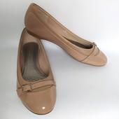 =Новые! Крутезные кожаные балетки Marks аnd Spencers Insolia Flex® стелька-25,5