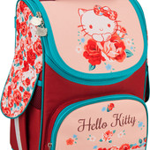 "Ранец школьный каркасный ортопедический ""трансформер"" Kite Hello kitty HK16-500S"
