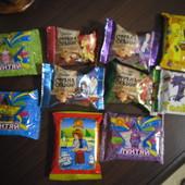 Вкусный набор вафельных конфет и печенья с мармеладом.Вес 228 грамм.