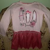 Платье для девочки 5-7 лет