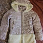 На весну! Новая нарядная куртка с орнаментом, 12-13лет