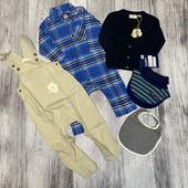 Lupilu пакет одежды для мальчика р.74/80