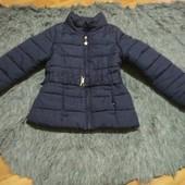 Детская курточка, рост 128, на девочку