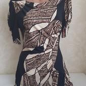 Красивое платье !! Ткань тонкий трикотаж !!