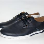 Мужские туфли на весну, легкие, удобные, размеры 41,45
