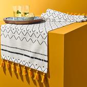 ☘ Красива скатертина-доріжка для сервірування столу від Tchibo (Німеччина) 40 * 180