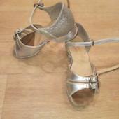 детские танцевальные туфли,16см по стельке
