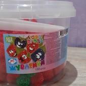 Вкусные желейные конфеты малинка