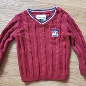 Новый свитер .100% котон, 18мес. 92/98 размер. Девочке и мальчику.