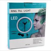 Лампа кольцевая светодиодная USB Ring Light, 16 см