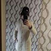 Светлое женское пальто. По бирке наш 46.Отличное состояние.