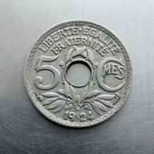 Франція 5 сантим 1924