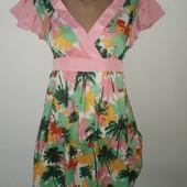 Новое летнее красивое платье размер С
